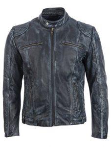 Aviatrix Motorradjacke aus Leder