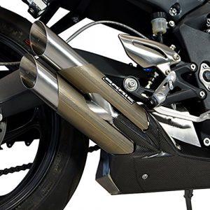 BODIS EXHAUST Doppel Auspuff Motorrad