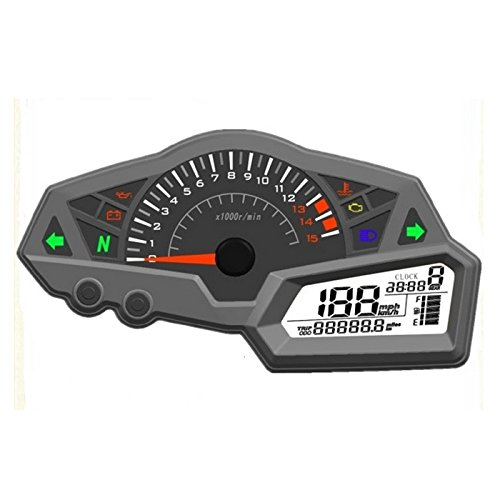 Digitaler Motorradtacho