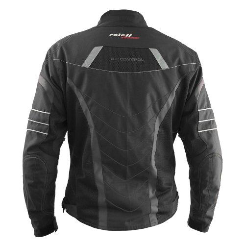 Roleff Vincenza Motorradjacke schwarz