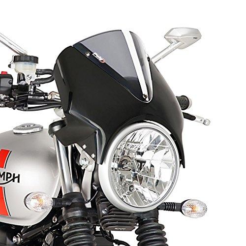Hohes Windschild für Motorrad