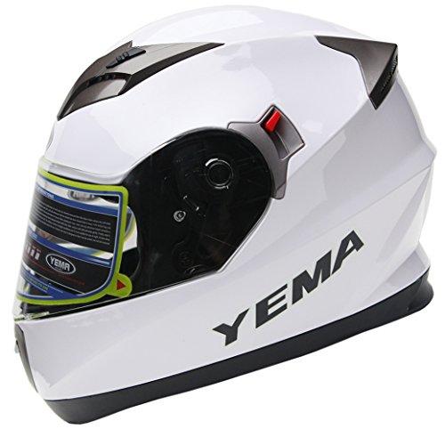 Yema integralhelm Weiß